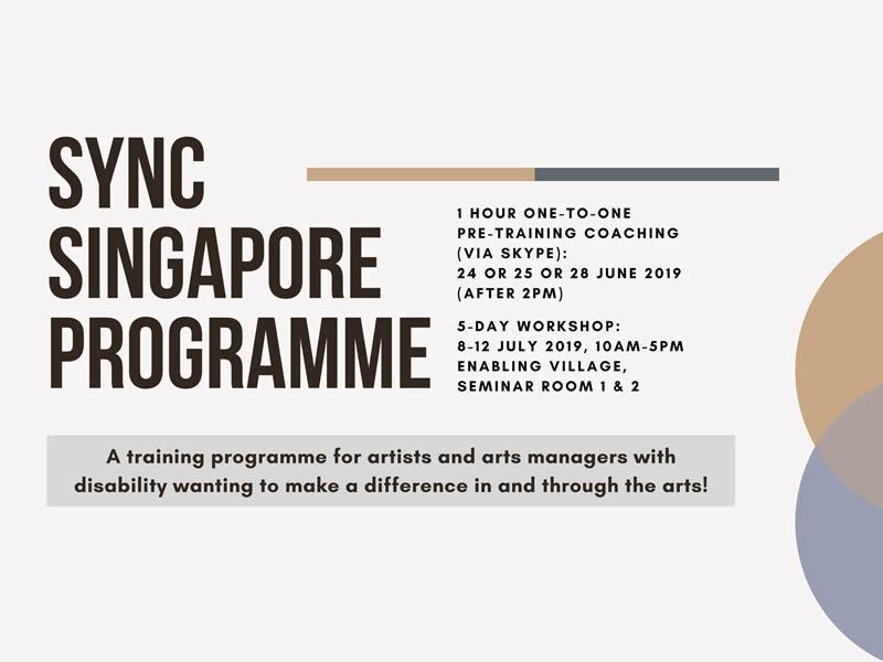 Sync Singapore Programme